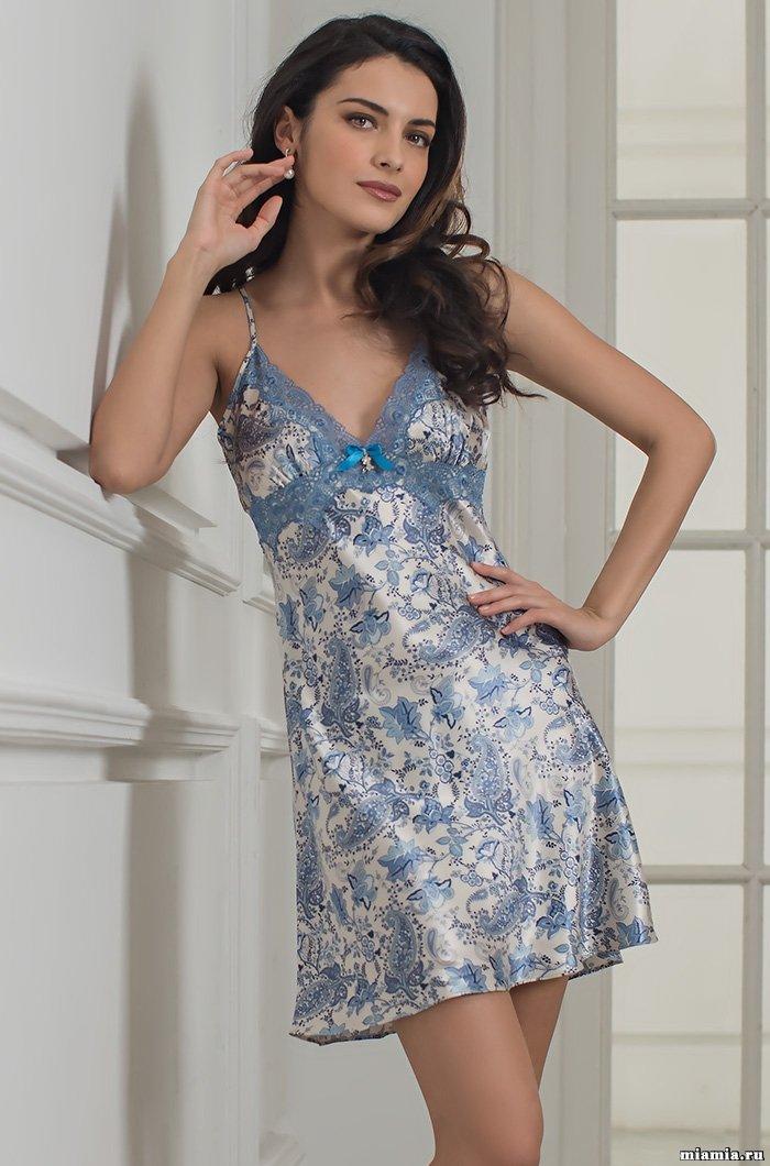 6ead6c339f18357 Сорочка Dolce Vita 5914. Mia-Amore: оптом женская одежда из шелка. Продажа  по всей России